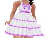Flat Purple Fancy Dress