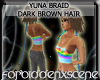 Yuna Braid - Dark Brown