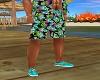 Hawaiian Tennis Shoes 8