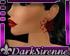 Sire Kara Earrings Red