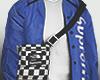 Blue + Bag
