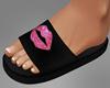 Kiss Black Slides