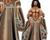 Masters Robe Tan Aztec