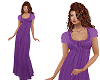 TF* Lilac Long Dress