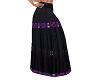 (F) Purple Skirt