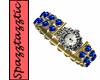 [SS]Gold Sapphire Watch