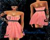 OO* Pink Mini sexi dress