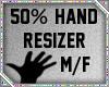 50% Hand Scaler