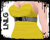 L:BBW Dress-PunkDiva Yel