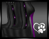 Rein Purple PVC Boots