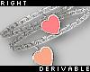 Heart Bracelets R rev.