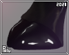 Rubber   Black pig hoof