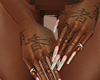 my nails + tats n ring