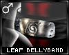 !T Leaf bellyband [M]