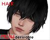 80s Anime hair