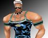 Muscle Mancha Blue Black