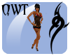 QWT Hawt(SM) Black&Red