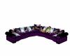 Purple Fantasy Couch
