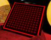 red black fight board
