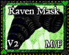 Midnight raven mask