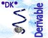 *DK*earrings twist