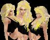 blonde & yellow hair