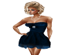 Dress Blue Elegant Short