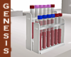 Lab Rack of Blood Tubes
