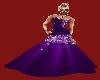 JBD Purple glitter gown