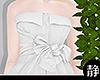 ☁ Tied Dress l White