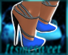 Glam Gown Shoes - Royal
