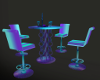 Club Neon Table/Chairs