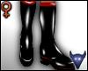 PVC boots black (f)