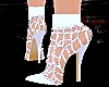 White,Sparckle, Boots
