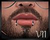 VII: Piercings