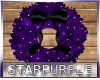 Christmas Indigo Wreath