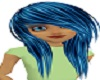 F blue hair