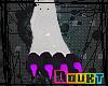 [D] BlackLite Feet -M-