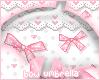 Pink Bow Umbrella