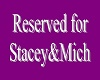 reserved sign stacey