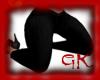 (GK) Plain Black Jeans