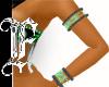 *F G Tribal Bling Cuffs