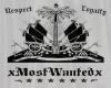 xMostWantedx Flag WHITE