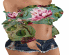 Boho Floral top