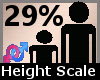 Height Scale 29% F A