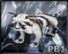 {PB}Black+white Lion Cub