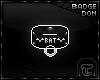 [T] Bat collar DON