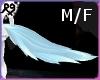 Light Blue Wolf Tail M/F