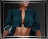 (SL) Ruffle Jacket Teal