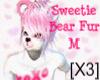 [X3] Sweetie Bear Fur M